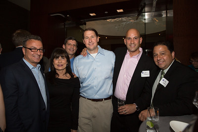 (L-R) City Councilor Sal LaMattina, Kathy Carangelo, Chad Wolfson, Chris Pezzello and Mayoral Candidate Rob Consalvo - 2013-06-07 at 19-21-51