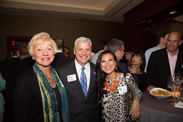 (L-R) Lorraine Passacantilli, Mayoral Candidate Dan Conley & Van Pezzello