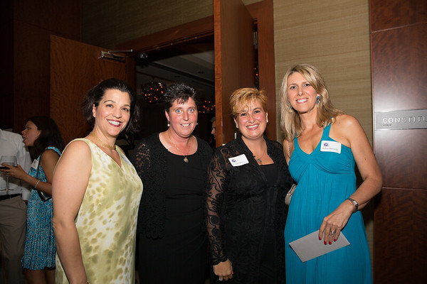 Spring Fling Committee (L-R) Julianne McHugh, Eliot Principal Traci Walker Griffith, Lynn Bova and Melissa Martocchio - 2013-06-07 at 19-49-05