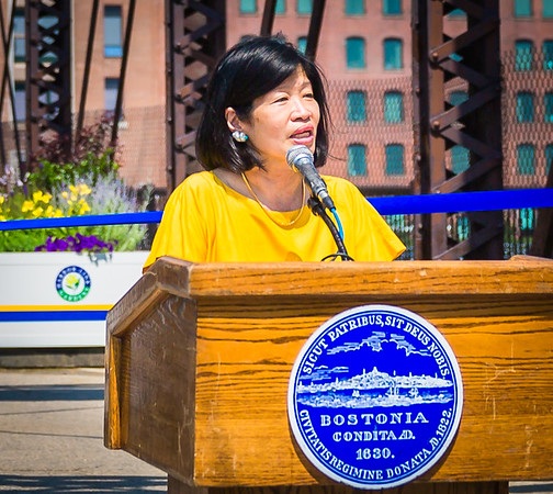 Vivien Li, President of The Boston Harbor Association