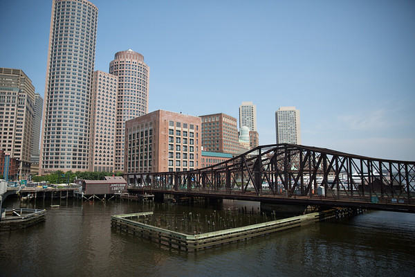 The Old Northern Avenue Bridge connects Downtown and the Greenway to the Seaport District - 2013-06-25 at 11-02-52