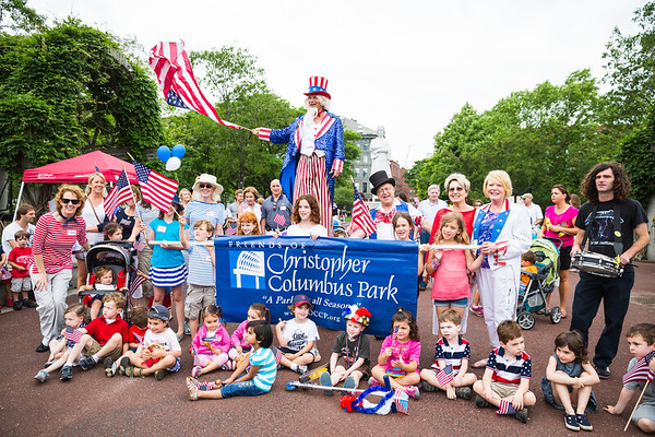2013-06   Independence Day Celebration at Christopher Columbus Park