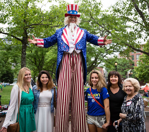 Ricco Ladies with Uncle Sam