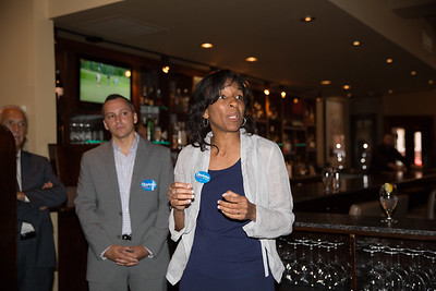 2013-06   Aaron Michlewitz Event with Mayoral Candidate Charlotte Gomar Richie at Prezza 36 - 2013-06-09 at 13-27-02