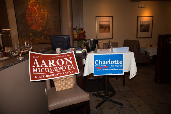 2013-06   Aaron Michlewitz Event with Mayoral Candidate Charlotte Gomar Richie at Prezza 65 - 2013-06-09 at 13-51-19