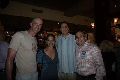 2013-06   Aaron Michlewitz Event with Mayoral Candidate Charlotte Gomar Richie at Prezza 17 - 2013-06-09 at 12-41-10