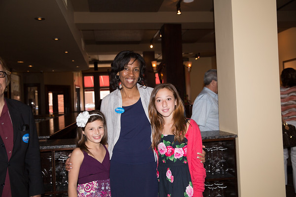 The D'Amico girls with Mayoral Candidate Charlotte Golar Richie - 2013-06-09 at 13-44-27