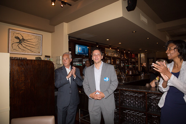2013-06   Aaron Michlewitz Event with Mayoral Candidate Charlotte Gomar Richie at Prezza 27 - 2013-06-09 at 13-16-36