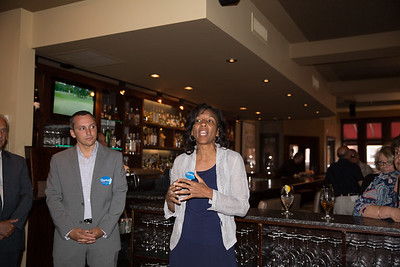 2013-06   Aaron Michlewitz Event with Mayoral Candidate Charlotte Gomar Richie at Prezza 33 - 2013-06-09 at 13-25-22