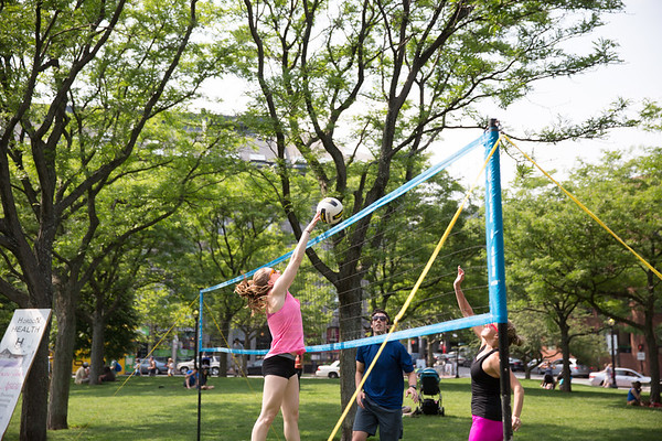 Power Volleyball at NEWHBA-Fest