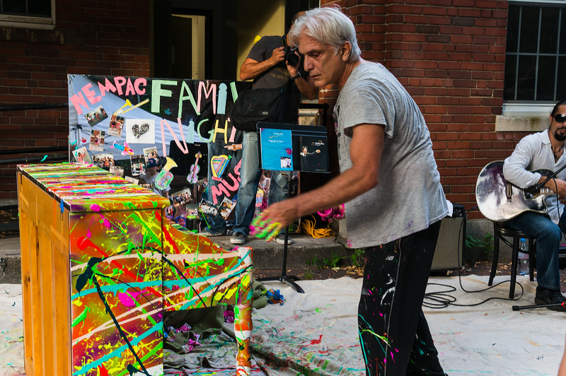 Painting the Pop-Up Piano by Giovanni Decunto