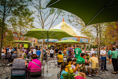 Opening Day for the Greenway Carousel on the Wharf District Parks