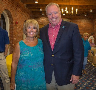 City Councilor Steve Murphy meets residents at NEWRA summer party