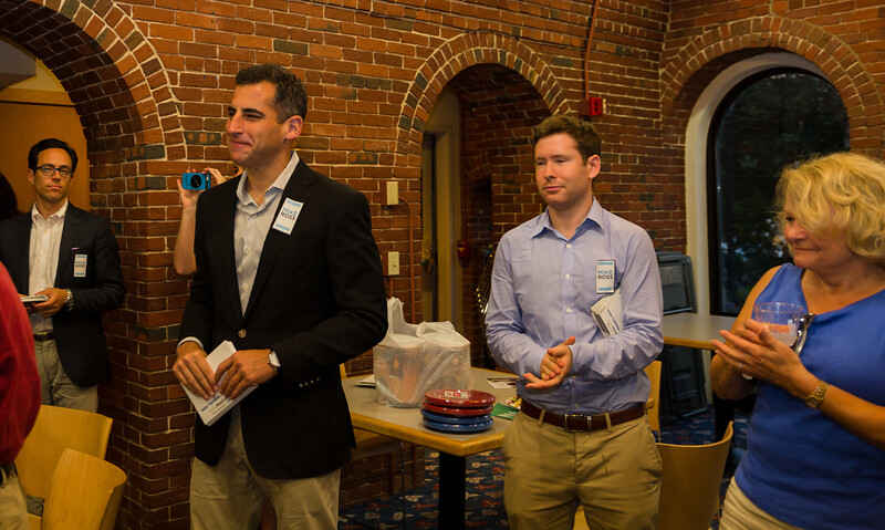 Mayoral candidate Mike Ross at NEWRA's summer party