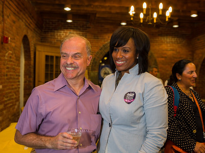 NEWRA President Jim Salini and City Councilor at Large Ayanna Pressley