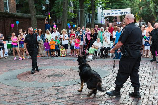 K-9 Boston Police Demonstration