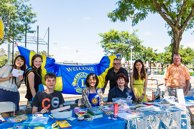 Boston Host Lions Club was proud to offer informational and service tables at the 24th Annual NEAD's Family Pride Day