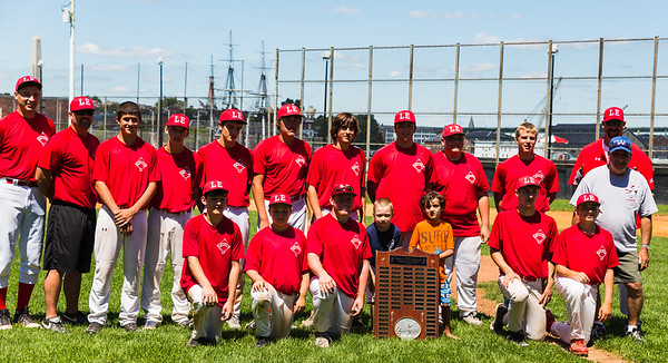 North Adams team at the 23rd Annual LaFesta Baseball Exchange