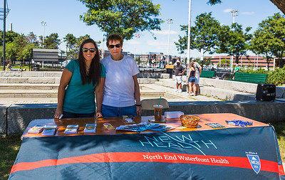 North End Waterfront Health at NEAD North End Family Pride Day - August 2013