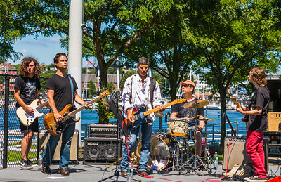 Crosstown (and guest Chris Romano) at NEAD North End Family Pride Day