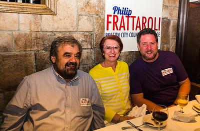(L-R) Filippo Frattaroli, Viv Aluia and Jason Aluia