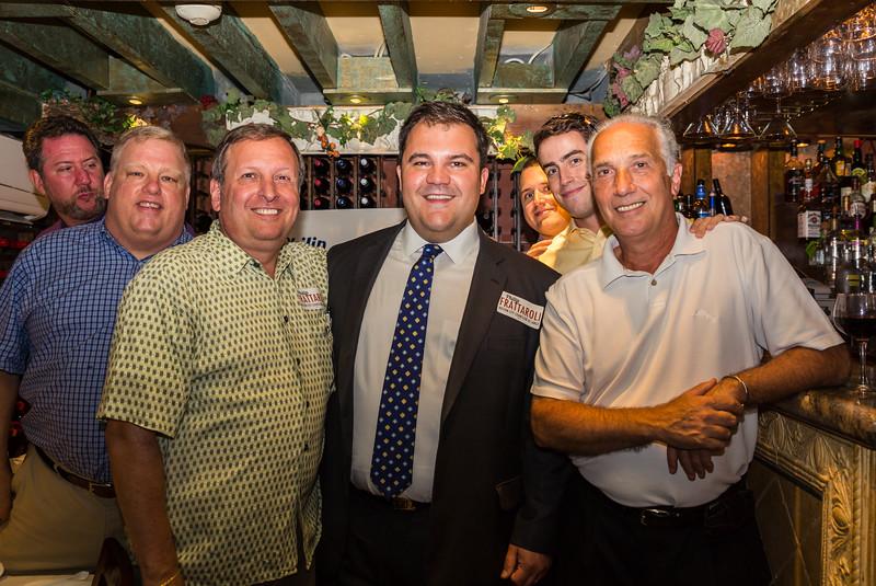 (L-R) Jason, Mike, Steve, Philip, Blake, Conor and Bobby