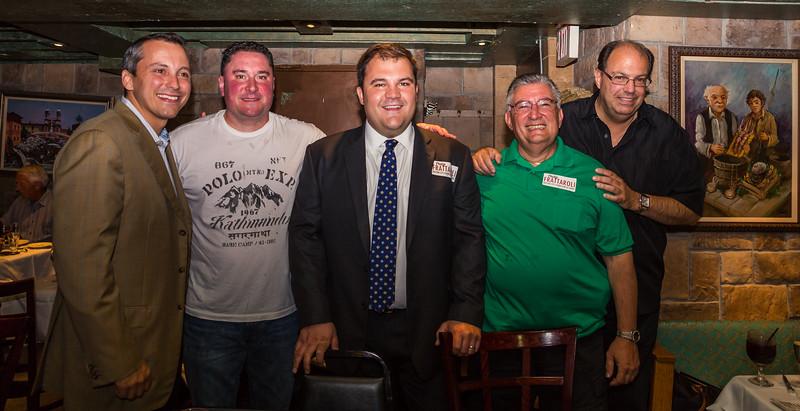 2013-08   State Rep Aaron Michelwitz and Jason Aluia Host Philip Frattaroli Fundraiser at Massimino's