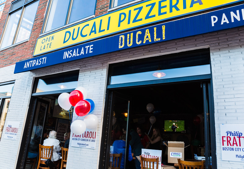 Philip Frattaroli's Ducali Pizzeria on Causeway Street in Boston's North End
