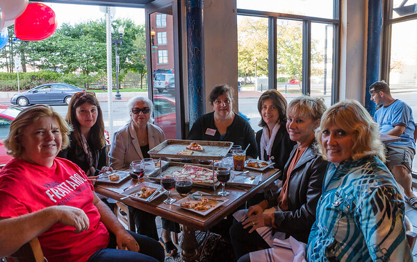 A contingent of women supporting Philip Frattaroli for City Councilor At-Large
