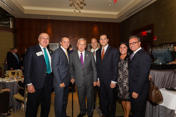 (L-R) John Finmara, Rep Aaron Michlewitz, Mayor Thomas Menino, John Romano, Sen Anthony Pettruccelli, Nicole Leo and Councilor Sal LaMattina