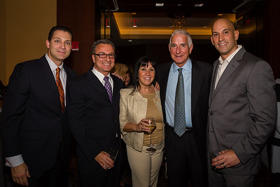 (L-R) Sen Anthony Pettrucccelli, Councilor Sal LaMattina, Lisa LaMattina, Daniel Passacanttilli and Chris Pezzello