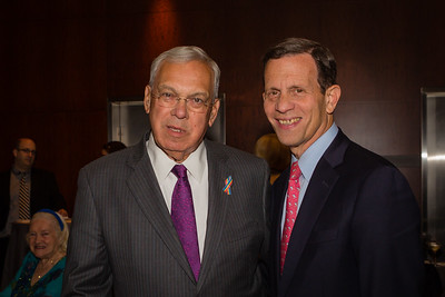 Mayor Thomas Menino (left) and State Treasurer Steve Grossman