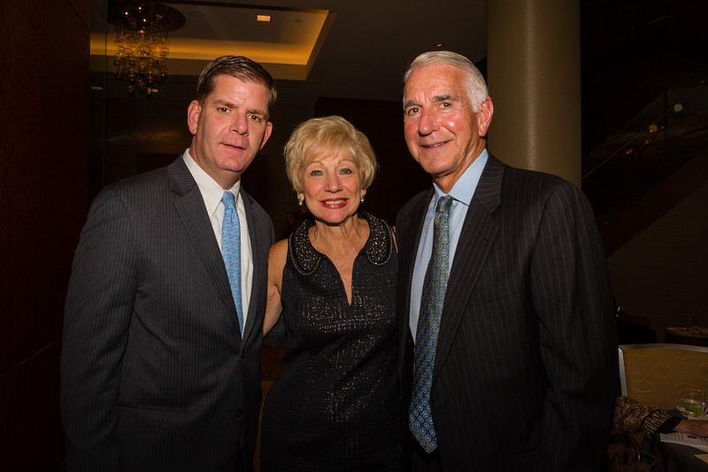 Mayoral Candidate Marty Walsh with Lorraine and Daniel Passacantilli