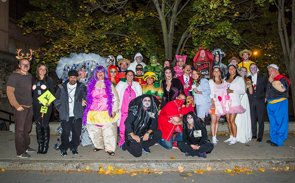 """4th Annual """"I Scare"""" Halloween Party hosted by Jason and """"Toots"""""""
