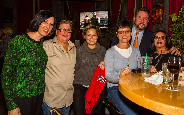 (L-R) Christine H., Berna, Carla, Christine C., Jackie, Jason and Carla
