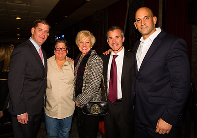 (L-R) Mayoral Candidate Marty Walsh, Jackie, Lorraine, Stephan and Chris