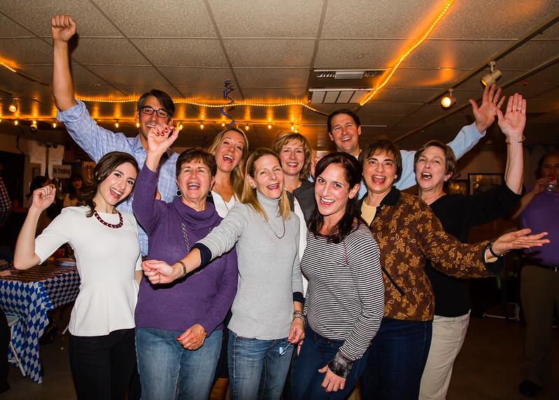 NEMPAC's Board of Directors and Staff - Ready for Oktoberfest!