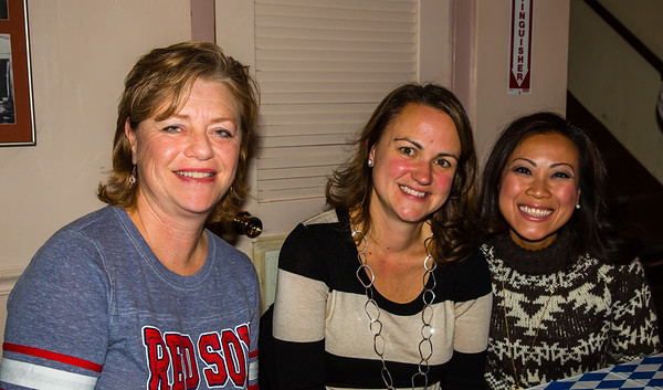 Paula, Donna and Von enjoying Oktoberfest!