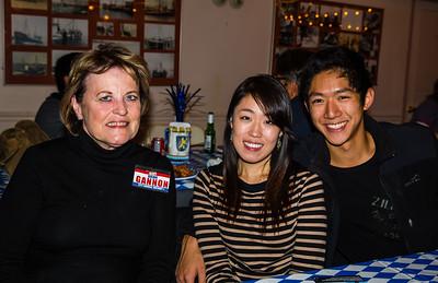 Attendees at NEMPAC's Oktoberfest
