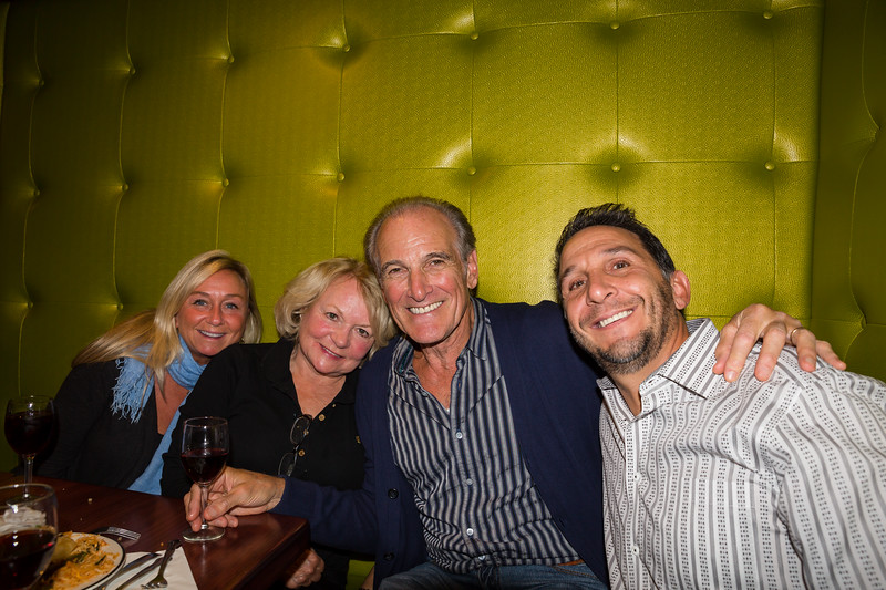 North End Waterfront residents, Anne and Paul Ragusa with Steve Mirabella and friend at the John Connolly Fundraiser