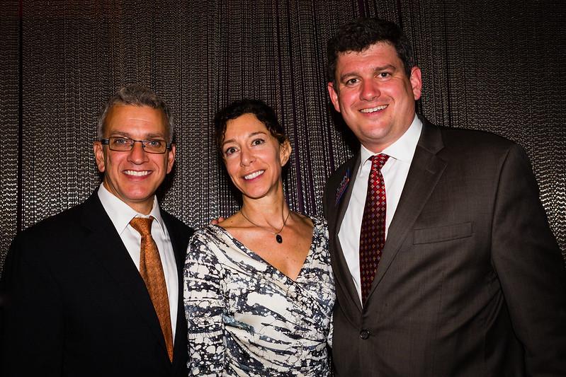 Paul Scapicchio, Toni Gilardi and Mayoral Candidate John Connolly