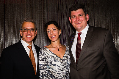 Paul Scapicchio, Toni Gilardi and Mayoral Candidate John Connolly