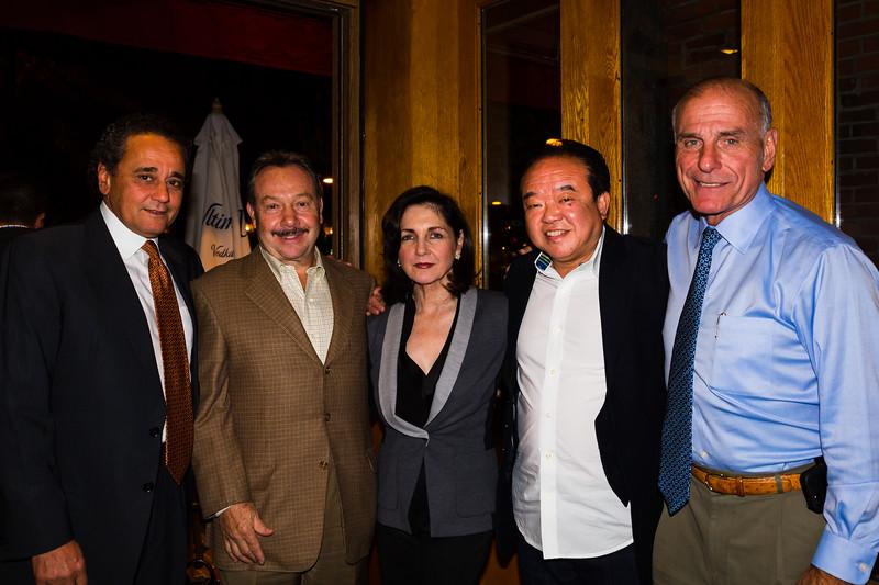 Event Organizers, (L-R) Nasser Buissier, Vito Ascolillo, Carmela Laurella, Billy Tse and Stephen DeAngelis