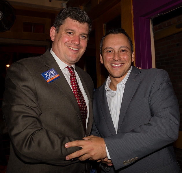 Mayoral Candidate John Connolly (left) gains the endorsement of State Rep