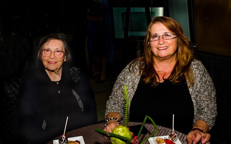 Adrianna DeStefano (right) and Mom, from Caffe Paradiso