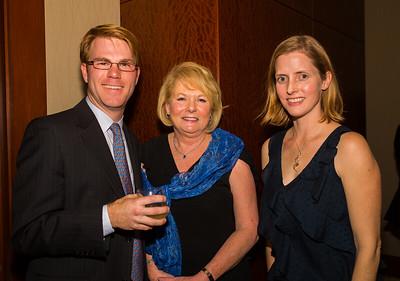 FOCCP President Joanne Hayes-Rines (center) with Jesse and Eileen Brackenbury.CR2