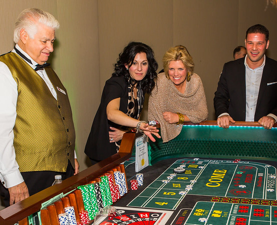Lucky Roller at the Craps Table