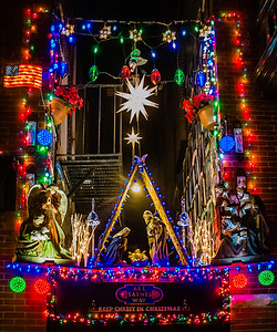 Christmas Display on Battery Street by Peter Baldassari