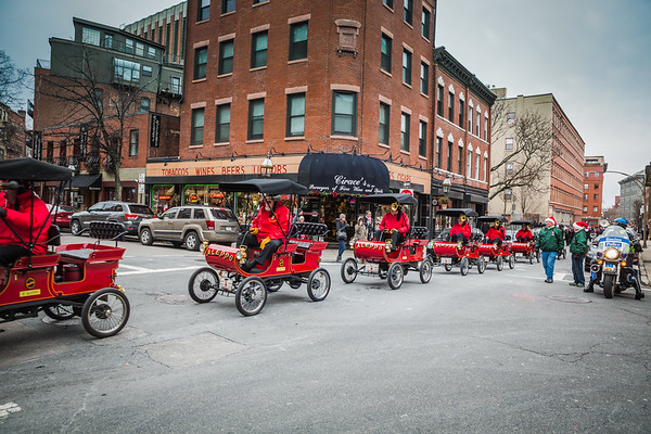 Aleppo carts in the North end Christmas Parade