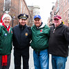 NEAA Organizers and BPD Sgt Tom Lema at the North End Christmas Parade